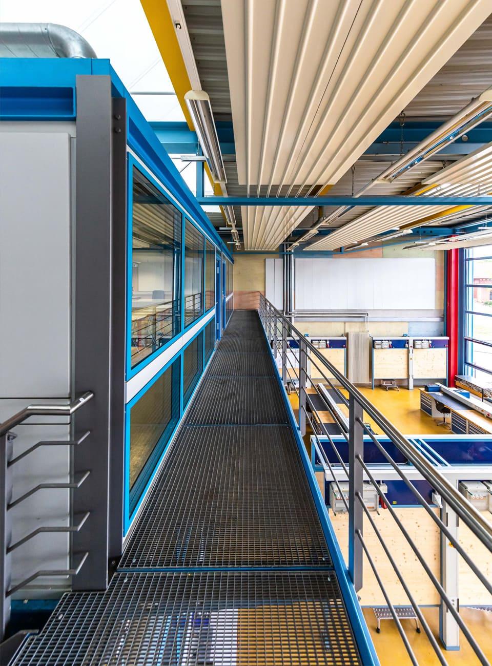 Scherzer Architekten N-ERGIE Ausbildungszentrum